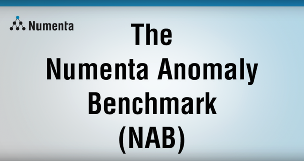 Numenta Anomaly Benchmark (NAB) for anomaly detection in streaming data (02:23)