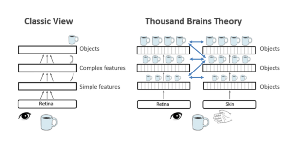 Figure 1. Thousand Brains Theory of Intelligece