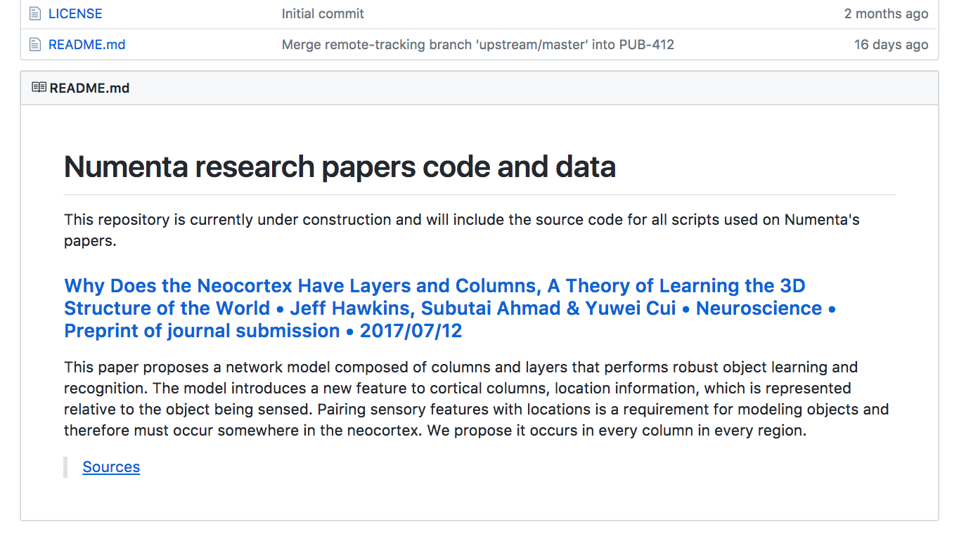 Replicating Scientific Results - Repository Sources