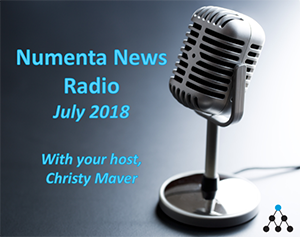 Numenta On Intelligence Podcast | Numenta News - July 2018 soundcloud